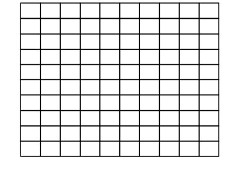 Galerry small blank hundreds chart printable