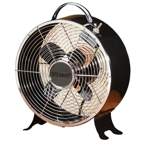 metal fans for 9 quot retro metal fan from deco breeze 174 227915 air