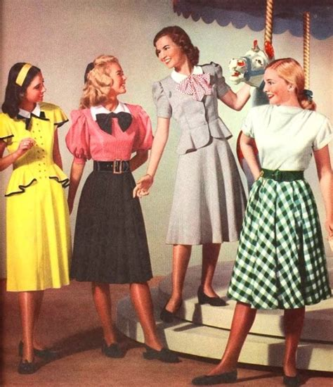 fabulous womens fashion in the 40s divatise magazine