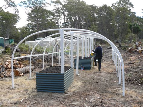 House Design Plans Australia building our poly tunnel greenhouse banksia hollow