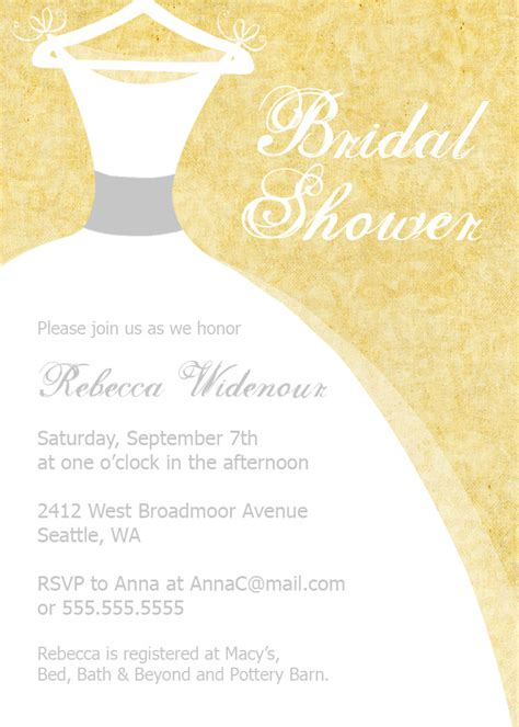 river photo greetings bridal shower invitations