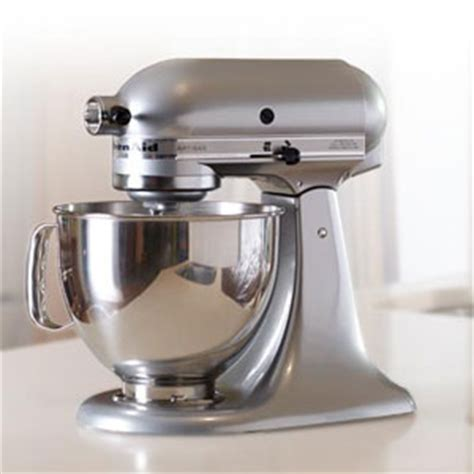 Kitchen Aid Silver by Kitchenaid 174 5qt Artisan 174 Ksm150pscu Silver Boscov S