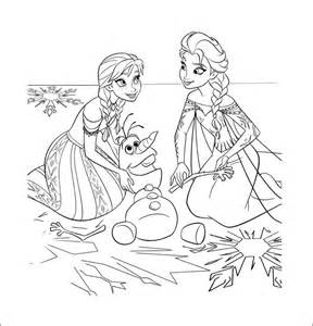 30 frozen coloring templates free png format download free amp premium templates