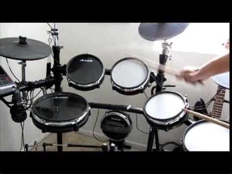 bendera cokelat drum cover by irman alesis dm10x mesh kit optimized by drum tec doovi