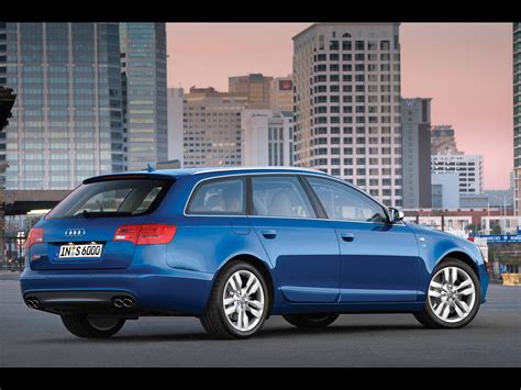 2012 Audi S6 Avant Blue 1280x960 Wallpaper