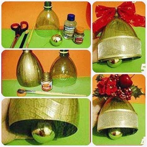 Creative Ideas   DIY Christmas Bell Ornament from Plastic