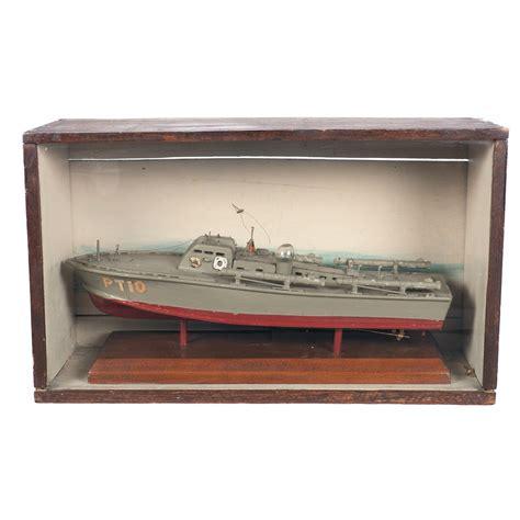 pt boat wood model period wooden model of elco patrol torpedo boat pt 10