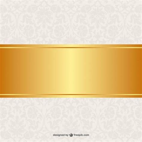 banner design background free floral background golden banner design vector free download