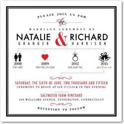 wedding shower invitation timeline this modern and chic wedding invitation template blends