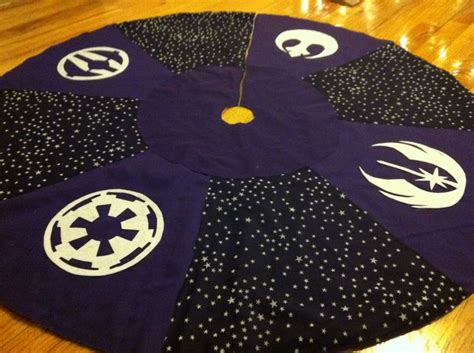 star wars christmas tree skirt let the wookie win