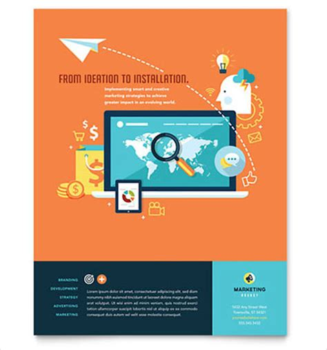 template flyer free word 24 word business flyer templates free download free
