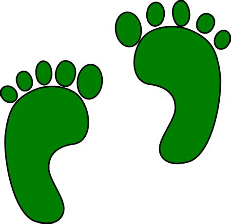 footprints clipart footprints clip at clker vector clip