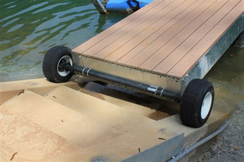floating boat dock wheels accessories lifetime docks
