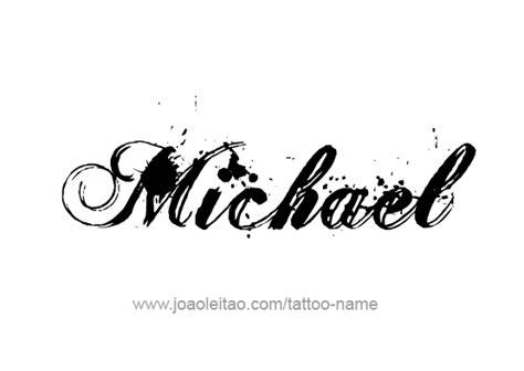 tattoo lettering michael michael name tattoo www pixshark com images galleries