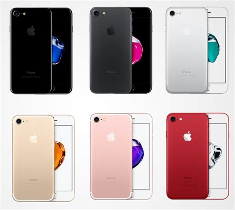 7 iphone colors which colour iphone 7 is the best