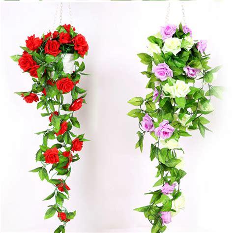 Decorative Vine Flowers buy wholesale artificial hanging vines from china artificial hanging vines wholesalers