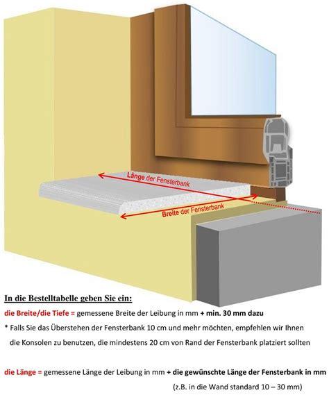 Steinfensterbänke Innen Preise by Fensterb 228 Nke In Gussmarmor Naturstein Oder Aluminium F 252 R