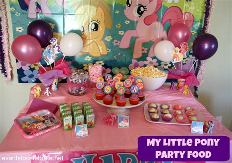 little decorations my little pony party ideas events to celebrate