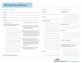 planning checklist template birthday planning checklist template l vusashop