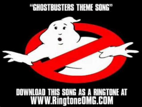 theme song ghostbusters ghostbuster theme song mp3 download