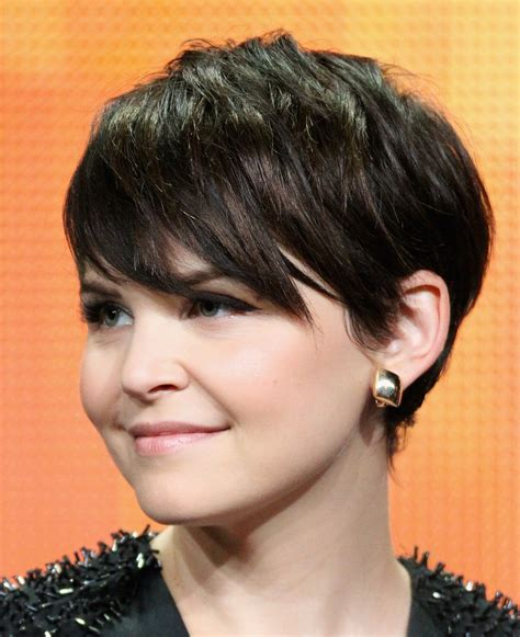 edgy dark hairstyles a gallery of short brown hair from pixies to shags
