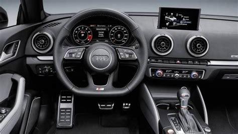 audi s3 interni audi s3 cabriolet listino prezzi 2018 consumi e dimensioni