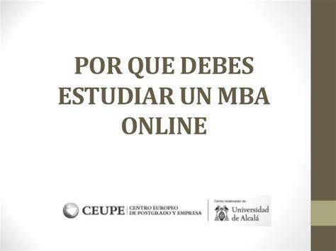 Que Es Un Mba En Marketing by Por Que Debes Estudiar Un Mba