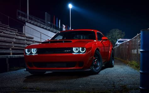 dodge challenger demon 2018 dodge challenger srt demon hd wallpapers hd