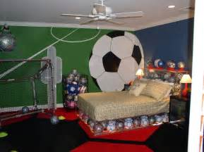 soccer bedrooms boy bedroom design with soccer themehome designs
