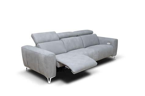 rossini divani divano con meccanismo per poggiatesta e poggiapiedi