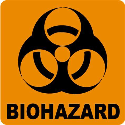 Biohazard 01 Sticker biohazard label by safetysign