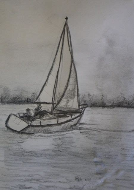 25 best ideas about sailboat drawing on pinterest ocean