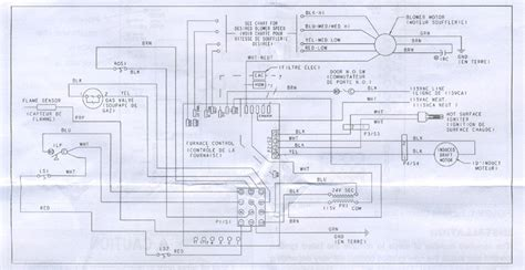 gas forced air furnace wiring diagram gas free engine