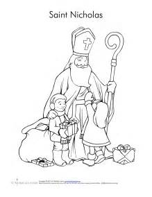 st nicholas coloring page free coloring pages of st nicholas