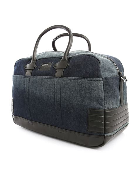 Diesel Bag by Diesel Denim Weekend Holdall Bag In Blue For
