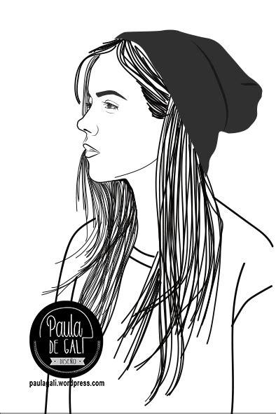 imagenes en blanco y negro faciles para dibujar nuevos retratos personalizados trazos blanco y negro