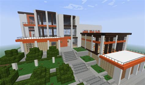 Massive Modern House Minecraft Project