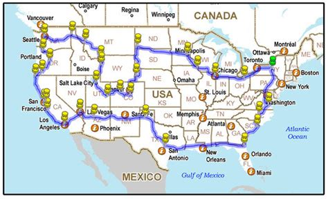 road trip map planner usa drivelapse usa time lapse of entire usa road trip