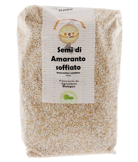 magnesio supremo dove si compra semi di amaranto soffiato herboris orientis