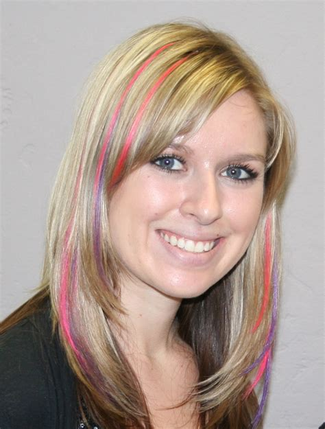 colored extensions hair colored extensions