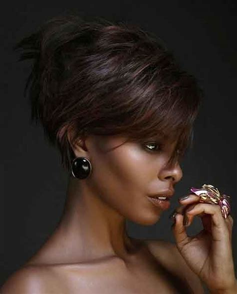 edgy bobs for african americans short haircuts african american women 2018 very short