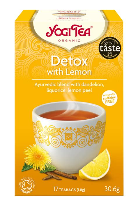 How To Make Lemon Detox Tea by Detox With Lemon Yogi Tea 174