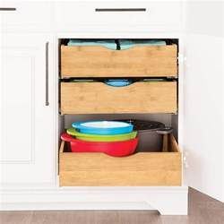 cabinet drawers bamboo pull out cabinet drawers the