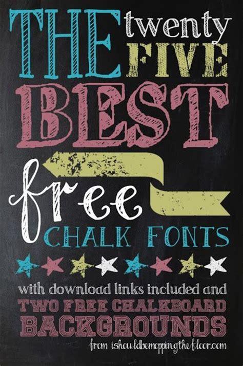 chalkboard diy fonts free chalk fonts diy