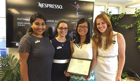 Nespresso Sustainability Mba Challenge 2017 by Yale Team Makes At Nespresso Sustainability