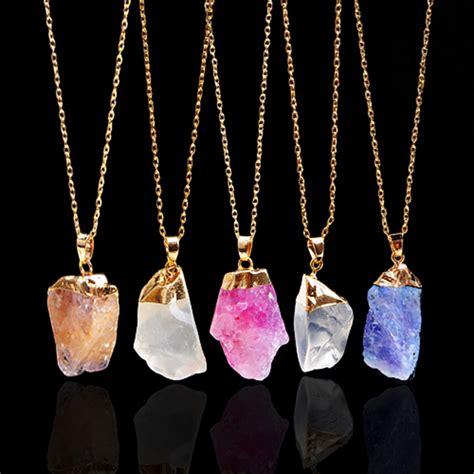 18k gold plated necklaces irregular
