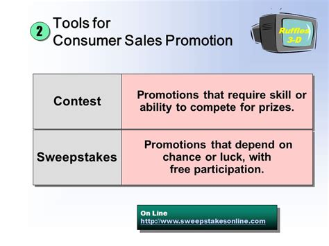 Sweepstakes Sales Promotion - sales promotion and personal selling ppt video online download