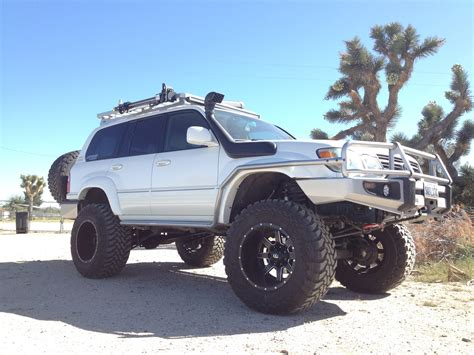 lifted lexus get more lift for your lc100 landcruiser