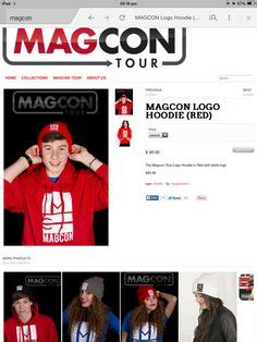 Hoodie Magcon Tour Logo Brothersapparel 1000 images about magcon on aaron carpenter mahogany lox and cameron dallas