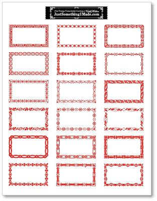 free printable gift tags from organized christmas com organizing labels cathe holden s inspired barn